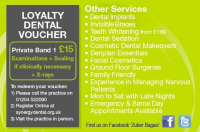 Loyalty Voucher at Synergy Dental