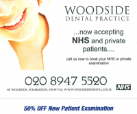 50% OFF New Patient Examination