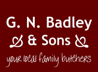 SAVE 10% on your first online shop with G. N. Badley & Sons Online Butchers