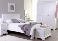 THE BRIDLINGTON WHITE BEDROOM FURNITURE RANGE
