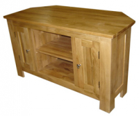 SOLID OAK TV CABINET WAS £399 NOW £299