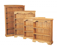 SOLID PINE BOOKCASES FROM ONLY £99
