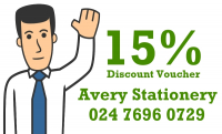 Save 15% on Stationery & Office Supplies in Coventry