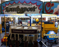 FREE Rides on the Coventry Market Round-A-Bout!