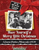 Book your Christmas party and get a £15 voucher for the organiser.