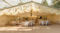 Hire a Wedding Marquee from 24 Carrot and add a dancefloor @ no extra cost!