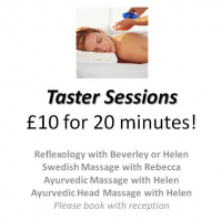 Swedish Massage Taster Session at the Letchworth Centre for Healthy Living