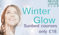 Keep Glowing – Winter Sunbed Offer from Revive Leisure Centre
