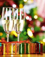 Free sparkling wine reception with every Christmas Booking for the month of December