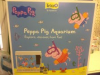 PEPPA PIG FISH AQUARIUM!