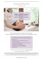 Free Facial at Champneys the Health Spa
