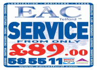 Vehicle Service from EAC Telford from only £89.99