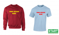 Great Deal on Printed T-Shirts & Sweatshirts from Start Workwear