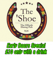 Early Doors Special Only £10