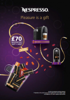 Free gift voucher worth up to £70