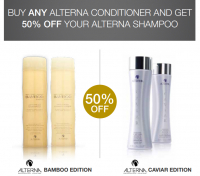 50% Off Alterna Shampoo