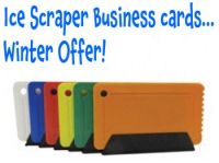 Business Cards, Winter Offer!