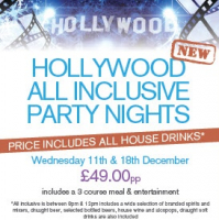 "ALL INCLUSIVE ""HOLLYWOOD"" PARTY NIGHT"