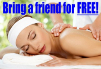 Book ANY treatment and bring a friend for FREE!