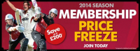 2014 Membership Freeze