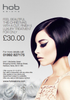 Enjoy a Cut, Finish and Luxury Treatment This Christmas for just £30