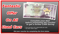 Fantastic offer on all used cars.