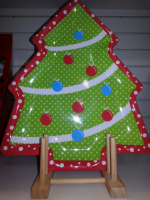 HALF PRICE CHRISTMAS TREE PLATTER
