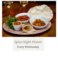 Spice Night Platter* - from £9.95*