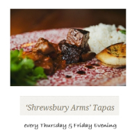 Thursday & Friday Evening Tapas - 4 Dishes For £10*