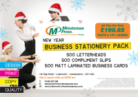 Business Stationery Pack just £160.65 plus VAT