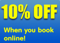 Blocked drain? 10% off your on-line booking