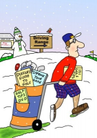 Personalised & Humorous Golf Instruction Gift Vouchers*