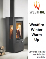 Westfire Winter Offer from Pure Stoves and Fireplaces