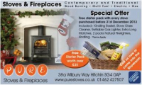 Special Christmas Offer from Pure Stoves and Fireplaces