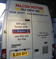 Sell your house through Jon Brambles Estate Agents and hire a van for FREE!