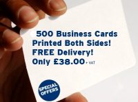 500 Quality Business Cards Only £38.00