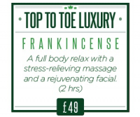 Relax with a massage and facial £49 (2hrs) Rrp £60