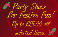 Upto £15 off selected Party Shoes