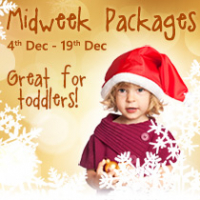 Great value Mid Week Christmas Packages