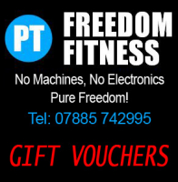 Freedom Fitness Personal Trainer - Gift vouchers from £10
