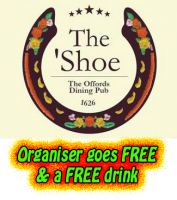 The organizer goes FREE & a FREE drink