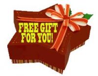FREE GIFT for every customer