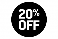 20% off sales fees