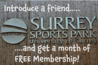 Month of free membership when you introduce a friend!
