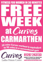 Free Week at Curves in Carmarthen!
