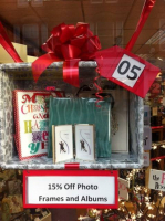 15% off Picture Frames and Albums