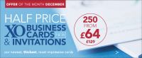 Half Price Business cards - Dnot miss this offer