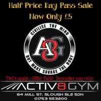 Half Price Day Pass - £5