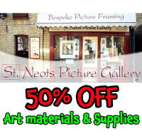 WOW!! 50% OFF  Art Materials & Supplies