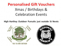 Outdoor Activites - Personalised Gift Vouchers